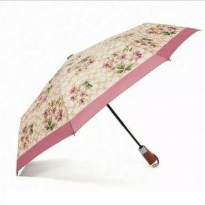 COACH Umbrella Nylon Signature Lily Bouquet F75788